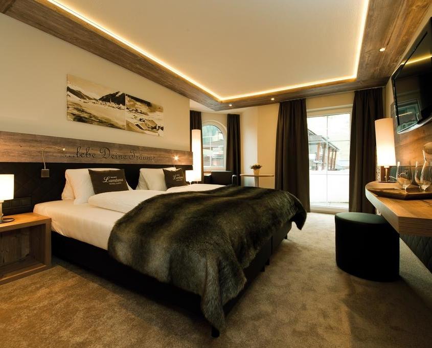 Hotel Garni Lamtana Ischgl Tirol | deluxe Zimmer