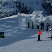 Hotel Garni Lamtana Ischgl Tirol | Themenskulptur